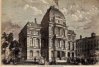 The was home to the Boston city council from 1865 to 1969.