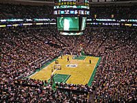 The Celtics play at the TD Garden.
