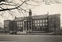 Boston Latin School was established in 1635 and is the oldest public high school in the US.