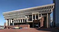 Boston City Hall is a Brutalist landmark in the city