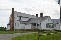 Early's childhood home in northeastern Franklin County