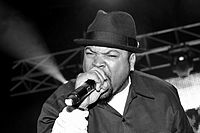 Ice Cube performing live in Metro City Concert Club on October 29, 2010