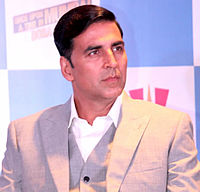 Akshay Kumar, one of the most successful Bollywood actors of all time, in 2013.