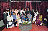 Group of Bollywood singers at the 2015 Indian Singers' Rights Association (ISRA) meeting