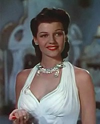 Rita Hayworth as Doña Sol des Muire in Blood and Sand (1941)