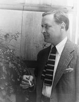 Fitzgerald with a cigarette in 1937