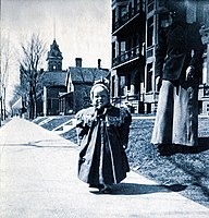 Fitzgerald, unbreeched as a child in Minnesota
