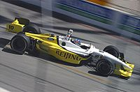 Allmendinger competing at Long Beach in 2005