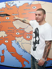 The German rapper Fler caused significant controversy with his music.