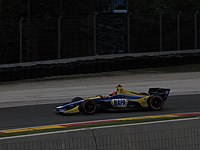Rossi on track at Road America