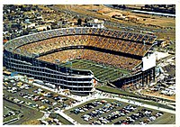 Mile High Stadium was the home of the Broncos from 1960 to 2000
