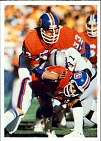 The Broncos defeated the Raiders in the 1977–78 AFC Championship Game to earn their first trip to the Super Bowl.