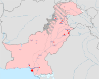 Military situation in Pakistan in June 2014, prior to Operation Zarb-e-Azb