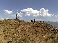 Pakistan airborne forces captured the highest point in Swat valley, 2009.