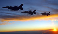 The Pakistan Air Force's F-16s took active participation in the combat aerial bombing missions against the TTP hideouts. Most Pakistan Air Force combat air operations were conducted at night.