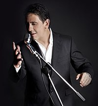 Domingo has recorded many compositions by his singer-songwriter son, Plácido Domingo Jr. (pictured here in a publicity photo)