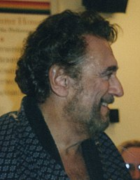 At the Washington National Opera on 14 April 2007 after a performance of Die Walküre, his most frequently performed German opera