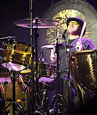 Jason Bonham, who filled his late father's position for reunions in 1988, 1995 and 2007