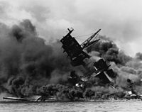 The was a total loss in the Japanese surprise air attack on the American Pacific Fleet at Pearl Harbor, Sunday 7 December 1941.