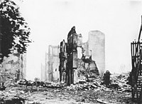The bombing of Guernica in 1937, during the Spanish Civil War, sparked fears abroad in Europe that the next war would be based on bombing of cities with very high civilian casualties.