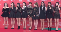 Twice at the 2019 Golden Disk Awards