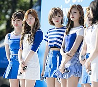 Twice at an event for Pocari Sweat in May 2017