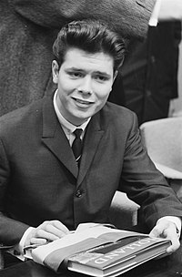Richard at a press conference in the Netherlands in 1962