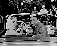 Sinatra and Grace Kelly on the set of High Society (1956)