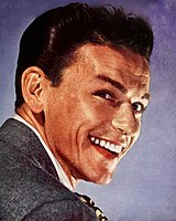 Portrait of Sinatra for the cover of Modern Screen, October 1945