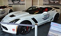 Gordon drove this 2015 Corvette Z06 as the honorary pace car driver for the 99th Indianapolis 500