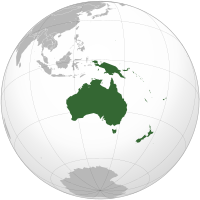 List of sovereign states and dependent territories in Oceania