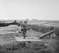 """""""Quaker guns"""" (logs used as ruses to imitate cannons) in former Confederate fortifications at Manassas Junction"""