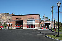 Fire Station #4, shared with the Revere Fire Department