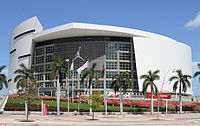 American Airlines Arena, home of the Miami Heat of the NBA