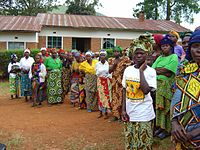 Meeting of victims of sexual violence in the Democratic Republic of the Congo