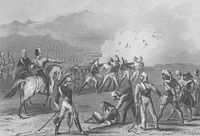Execution of mutineers by blowing from a gun by the British, 8 September 1857.