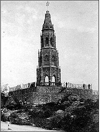 The Mutiny Memorial in Delhi, a monument to those killed on the British side during the fighting.