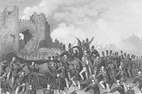 Assault on Delhi and capture of the Cashmere Gate, 14 September 1857