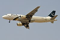 PIA Airbus A320-200