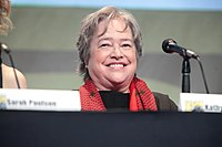 Bates at the 2015 San Diego Comic-Con promoting American Horror Story