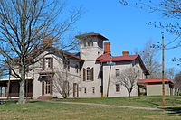 The Trenton City Museum, located at the Ellarslie Mansion in Cadwalader Park
