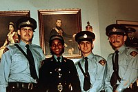 Cadets at the OPP training centre in Toronto, 1978