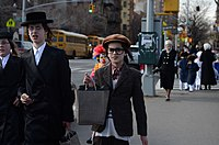 The New York City is home to 1.1 million Jews, making it the largest Jewish community outside of Israel.