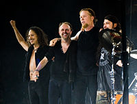Metallica was one of the most influential bands in heavy metal, as they bridged the gap between commercial and critical success for the genre. The band became the best-selling rock act of the 1990s.