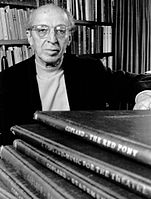 """Aaron Copland was referred to by his peers and critics as """"the Dean of American Composers"""""""