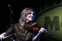 Alison Krauss is the most awarded singer and the most awarded female artist in Grammy history.