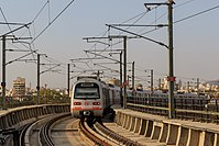 The Jaipur Metro is an important urban transportation link