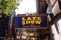 The Ed Sullivan Theater, where Late Show with David Letterman was recorded