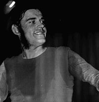Cocker in concert at Palasport, Rome, July 1972