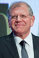 Director Robert Zemeckis in 2015. He developed Back to the Future with his longtime friend Bob Gale.